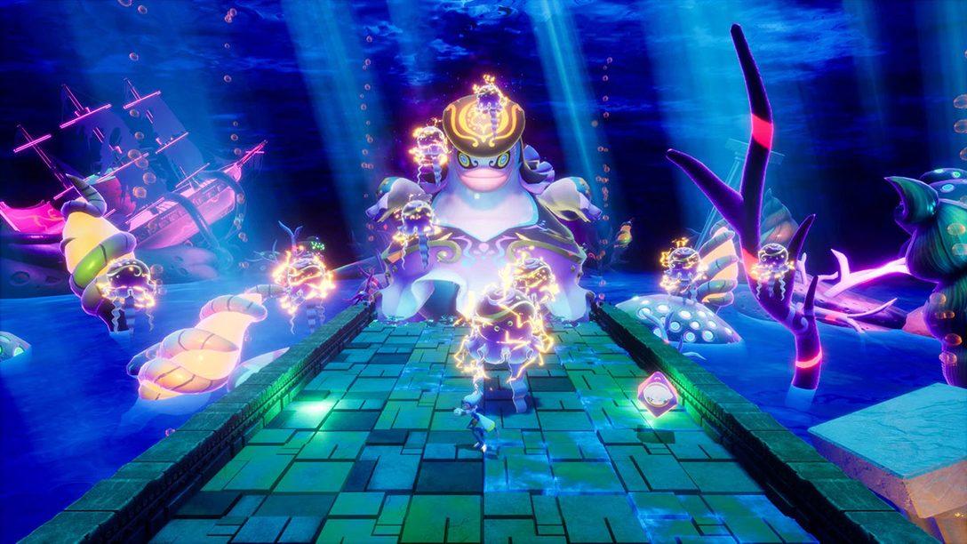 『バランワンダーワールド』の新たな物語を紹介! 第2章は海底の世界、第3章は虫が暮らす森の世界が舞台に!