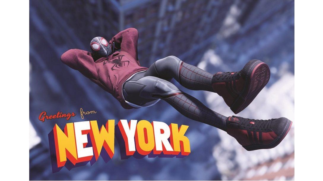 PS5™『Marvel's Spider-Man: Miles Morales』にadidasとのコラボレーションモデルのスニーカーを実装決定! 実際のスニーカーも発売!
