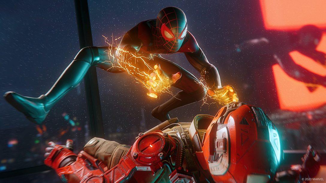 『Marvel's Spider-Man: Miles Morales』本日発売! 生体電気パワーを駆使した新たな戦いをレビュー!