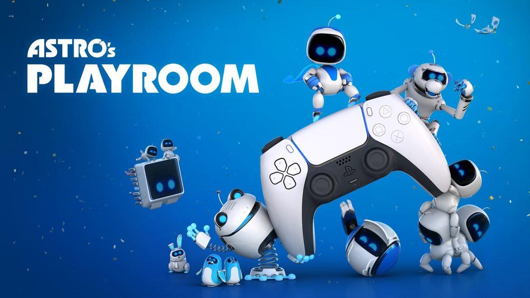 『ASTRO's PLAYROOM』でDualSense™ ワイヤレスコントローラーの機能を遊びつくそう!