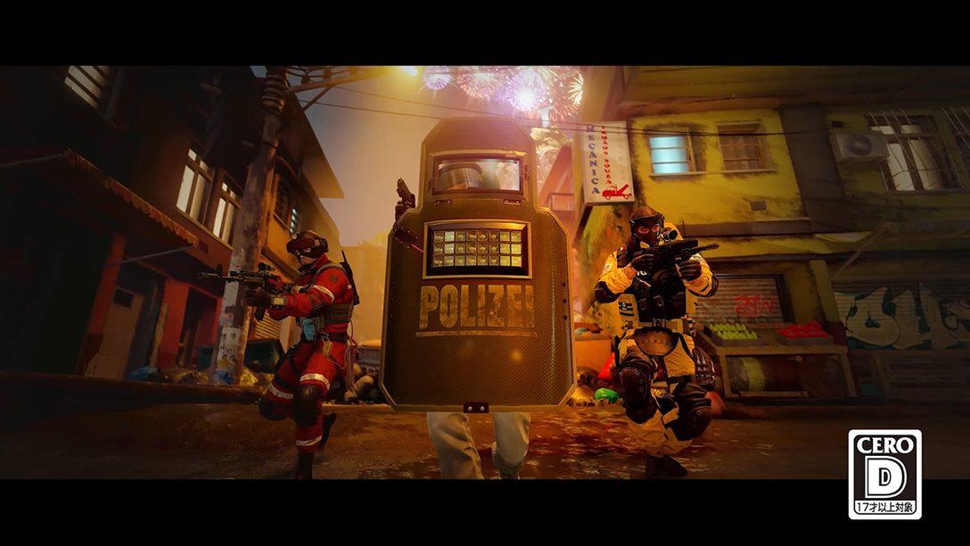 PS5™『レインボーシックス シージ』12月1日配信開始! PS5とPS4®のプレイヤー同士でのプレイが可能に!