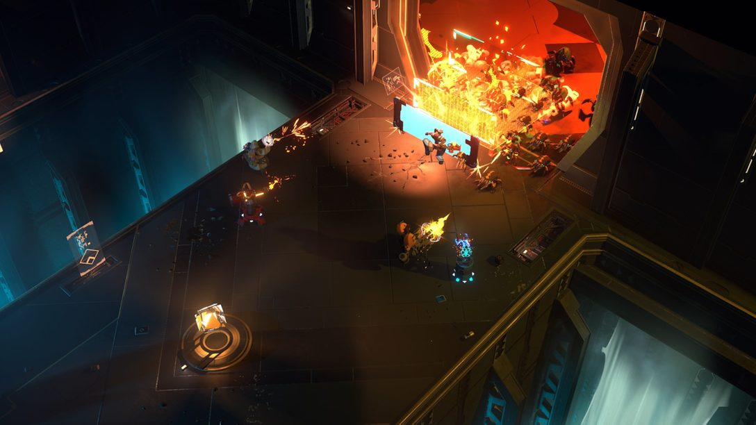 PS5™『Endless Dungeon』がThe Game Awards 2020で初公開! 謎めいた宇宙ステーションからの脱出を目指す、ローグライト・タクティカルアクション!