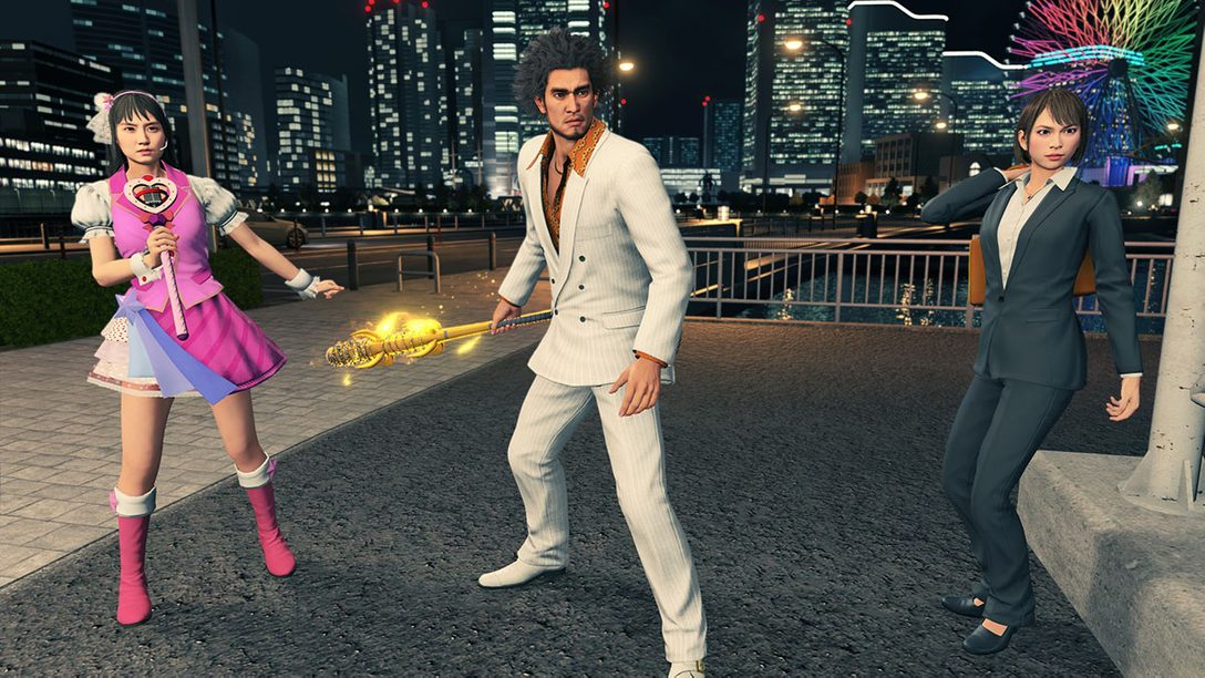 PS5™『龍が如く7 インターナショナル』DL版の予約受付開始! 早期購入特典は歴代シリーズキャラの特別衣装セット!