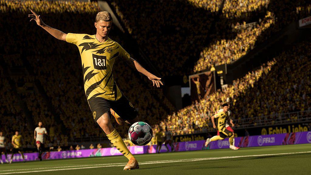 PS5™『FIFA 21 NXT LVL EDITION』のパッケージ版が本日発売! 新次元のゲームプレイを体験しよう!