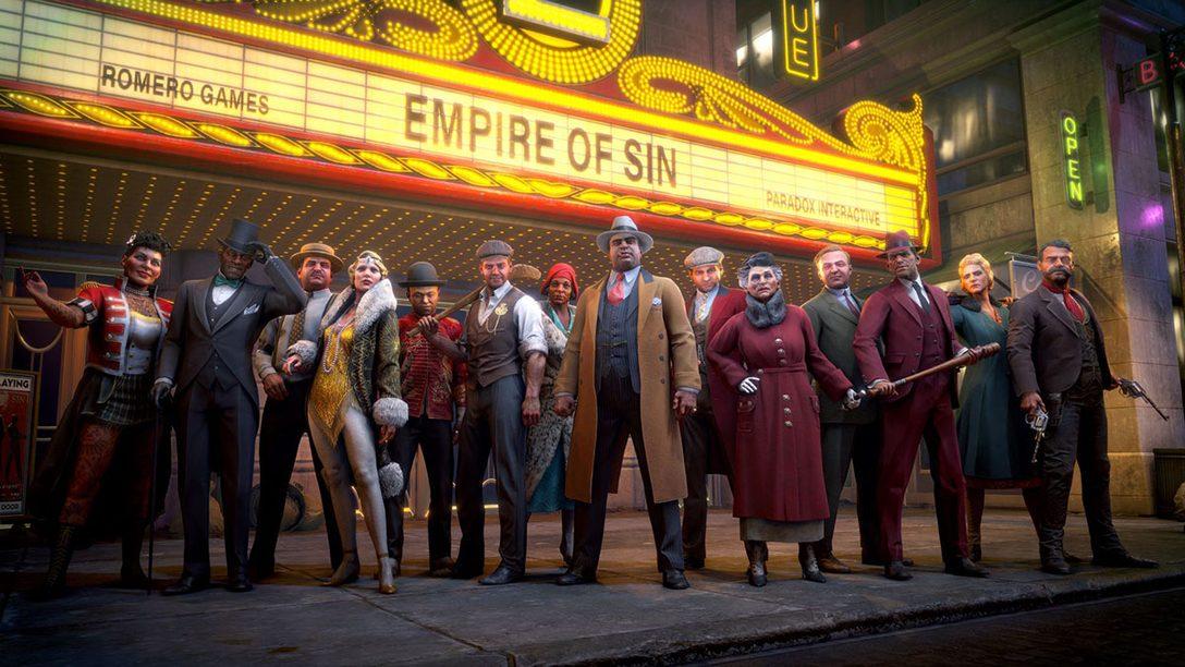『Empire of Sin エンパイア・オブ・シン』本日発売! 日本版には「4人の新ギャング」などの特典が付属!
