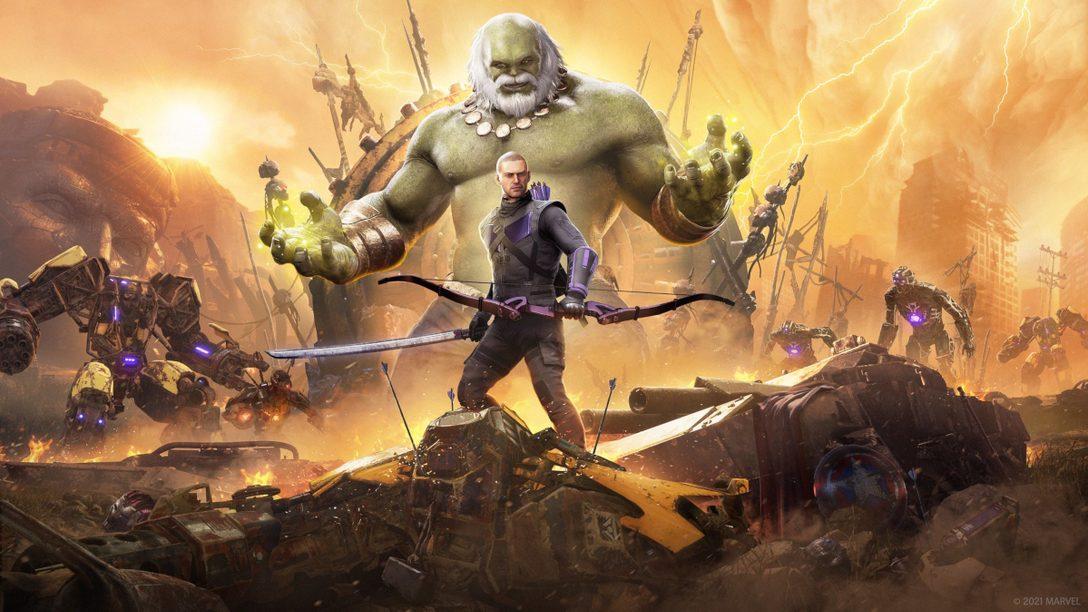 3月19日(金)、弓の名手「ホークアイ」が『Marvel's Avengers (アベンジャーズ)』に登場!