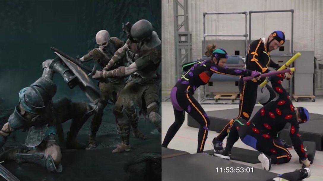 PS5™『Demon's Souls』のアクションに命を吹き込む、モーションキャプチャーの制作秘話を公開!