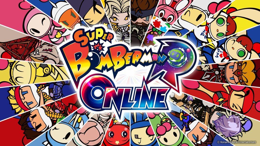 PS5™/PS4®『スーパーボンバーマン R オンライン』2021年配信決定! 基本プレイ無料、最大64人でバトルロイヤル!!