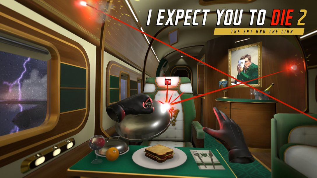 『I Expect You To Die 2: The Spy and The Liar』が2021年PS VRで発売! 最新情報をお伝えします