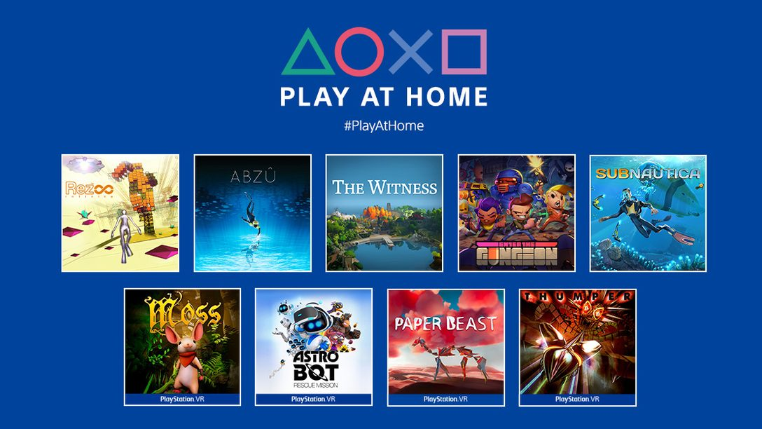 「Play At Home」イニシアチブ更新情報! PlayStation®ゲーム10作品を今春、期間限定・無料でお楽しみいただけます!