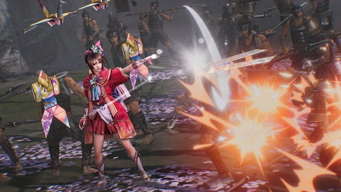 PS4®『戦国無双5』浅井長政やお市など4名の登場武将が明らかに! 序盤のストーリーや新アクション「閃技」も公開