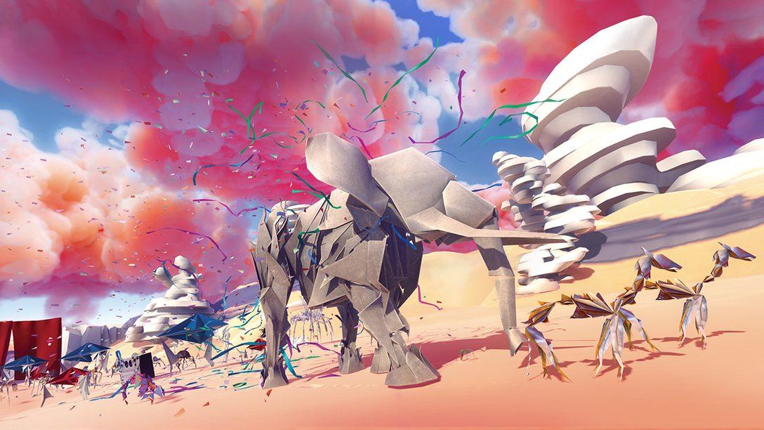 【PS VR】『Paper Beast』プレイレビュー! 紙の生き物と助け合いながら神秘の世界を旅するパズルアドベンチャー