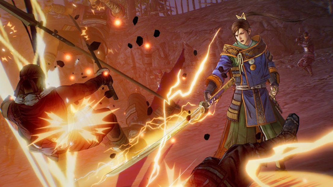 PS4®『戦国無双5』武田信玄や上杉謙信、毛利元就など新たな登場武将5名が公開! 第三回公式番組は4月23日配信!
