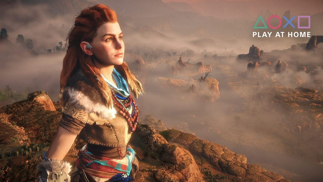 「Play At Home」イニシアチブ更新情報! 本日から5月15日正午まで『Horizon Zero Dawn Complete Edition』を無料配信!