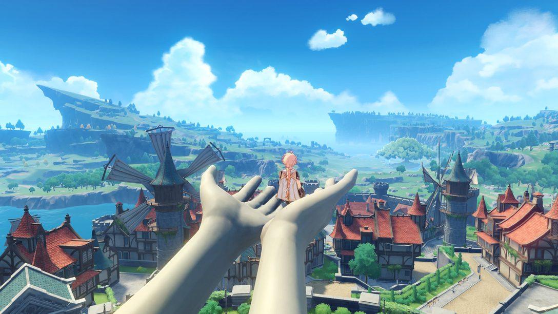 PS5™『原神』が4月28日(水)に配信開始! 新世代の進化したオープンワールドを楽しもう!