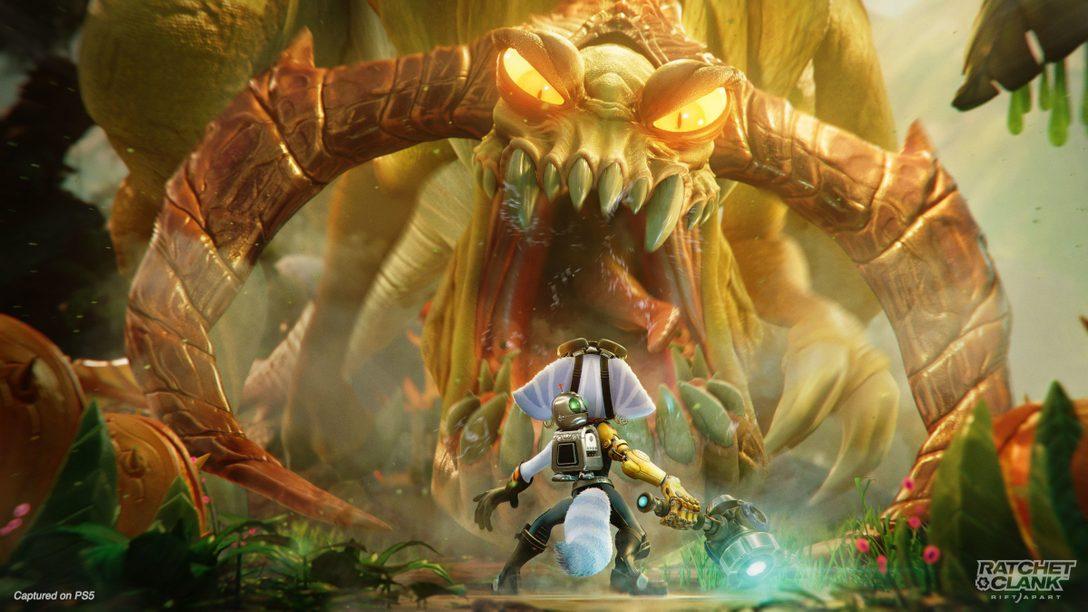 PS5™『ラチェット&クランク パラレル・トラブル』「State of Play」で15分のゲームプレイ映像を公開!