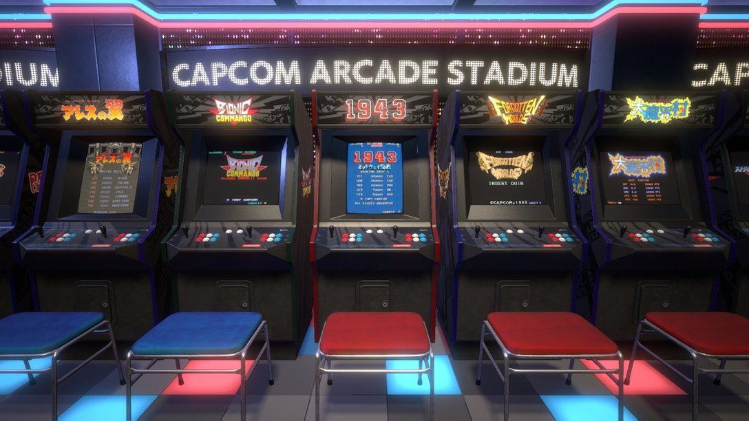 PS4®『カプコンアーケードスタジアム』が5月25日に配信決定! 総勢32タイトルの名作たちが集結!!
