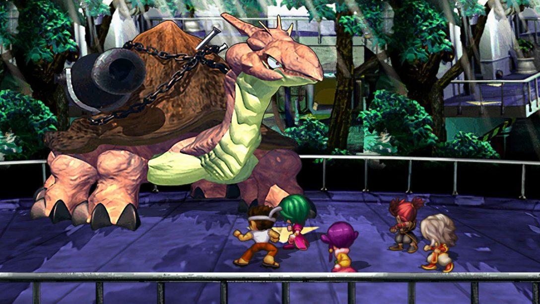 PS4®『サガ フロンティア リマスター』本日配信! 8人目の主人公ヒューズや幻のイベントを追加して名作RPGが復活!