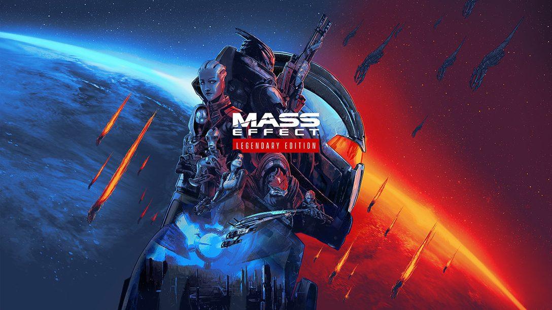 PS4®『Mass Effect™ Legendary Edition』本日発売! シリーズ三部作を4K Ultra HDに最適化したリマスター版!
