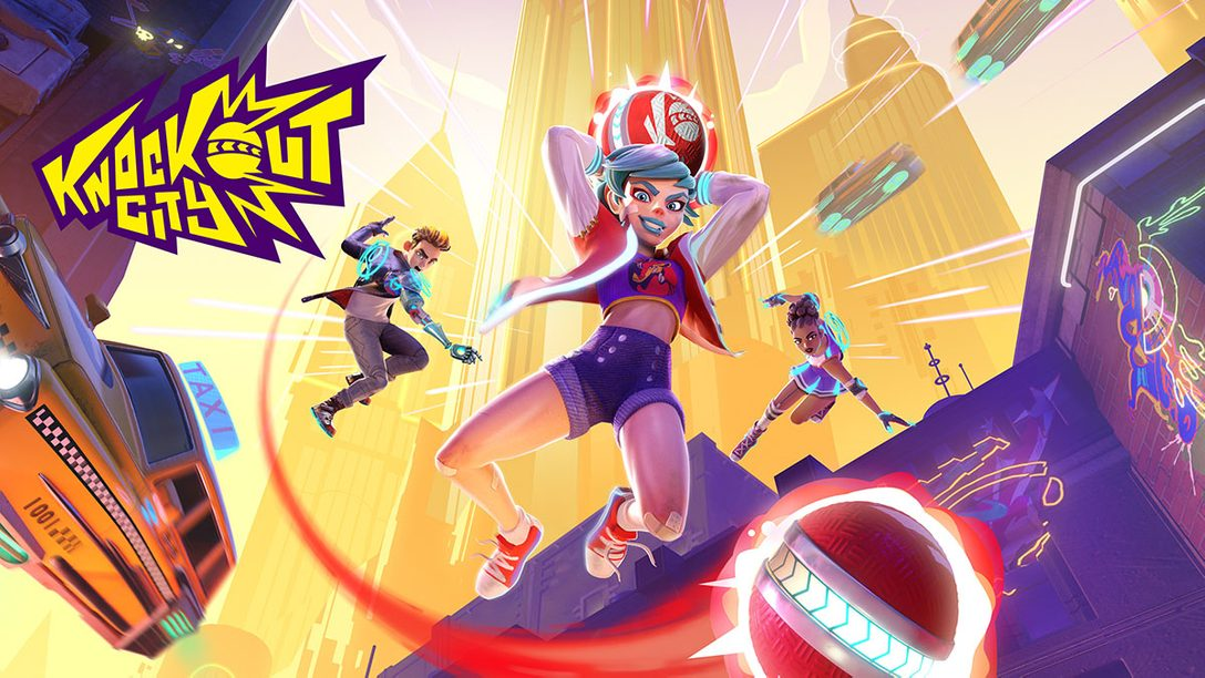 PS4®『Knockout City』本日発売! ギミック満載のストリートで戦う、チームベースの痛快ドッジボールバトル!