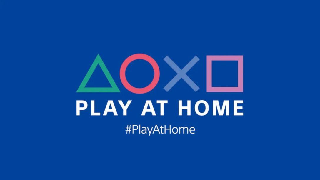 「Play At Home」イニシアチブ更新情報! 人気PlayStation®タイトルのゲーム内コンテンツを期間限定・無料でお楽しみいただけます!