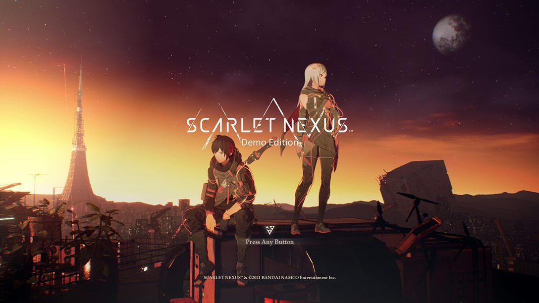 『SCARLET NEXUS』の無料体験版が5月28日に配信決定!