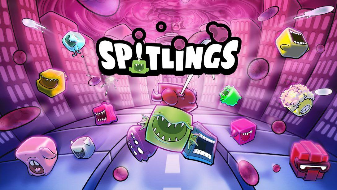協力プレイが楽しいアクションゲーム『スピットリング バブルでパーティー』PlayStation®4にて本日発売!
