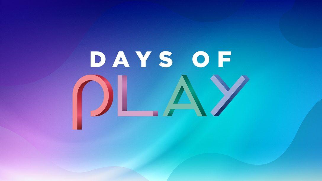 全国のPlayStation®取扱店にて「Days of Play」セールが本日5月26日より開催!
