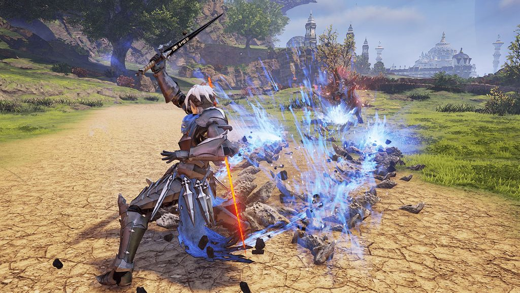 Gameplay image from Tales of Arise