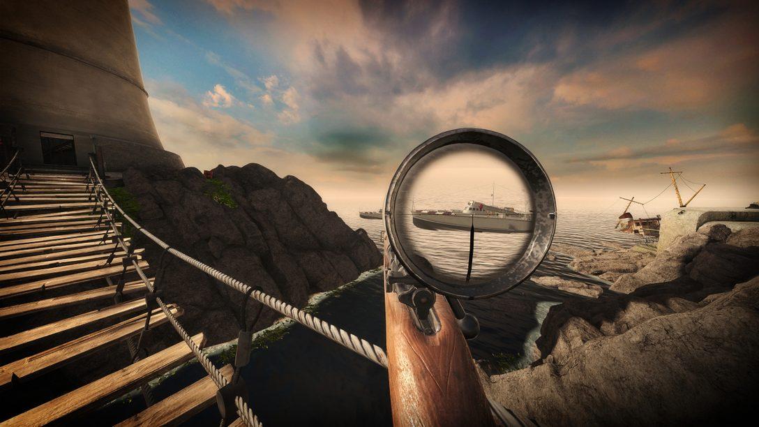 【PS VR】『Sniper Elite VR』狙撃のリアリティを追求したシューティングゲームの開発秘話を公開!