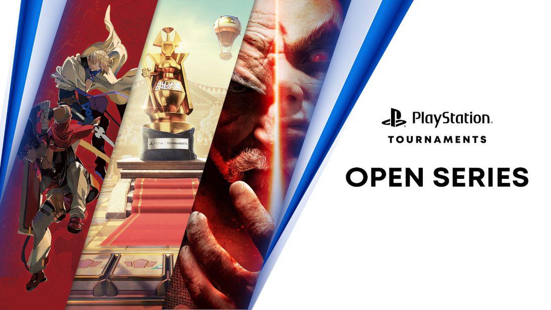 「PlayStation®4 Tournaments: Open Series」に3つの新しいタイトルを追加!