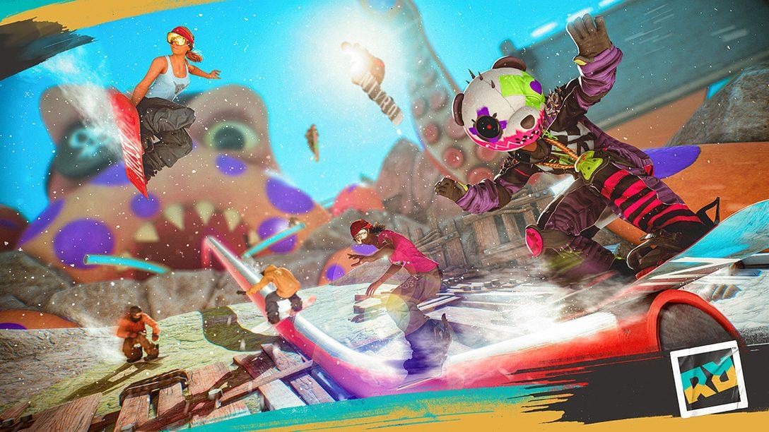 PS5™/PS4®『ライダーズ リパブリック』9月2日発売決定! ベータテストへの参加登録もスタート!
