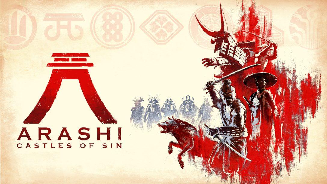 【PS VR】ステルスアクション『Arashi: Castles of Sin』で忍者となって悪党を討て!