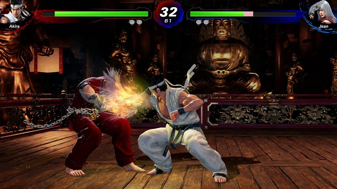 PS4®『Virtua Fighter esports』がPS Plus フリープレイとPS Nowで本日配信! 最新グラフィックと新機能を備えた最新作!
