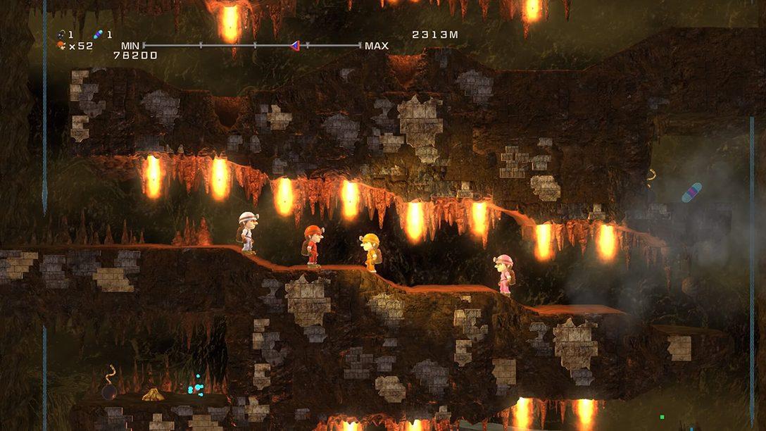 『元祖みんなでスペランカー』プレイレビュー! 洞窟探険アクションがフルリメイク&新モード搭載で復活!