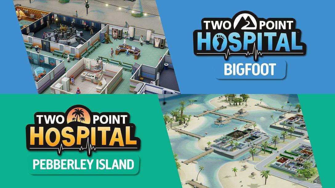 『ツーポイントホスピタル:ジャンボエディション』はDLC収録の大ボリューム! 冬の地域や南の島へと病院経営を拡大!