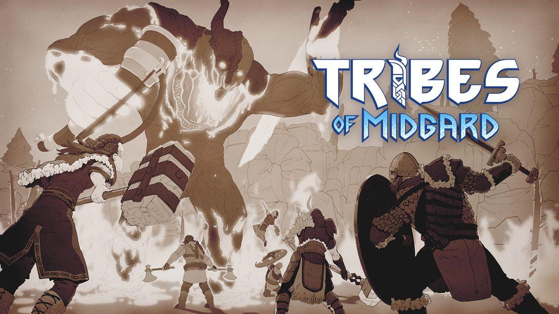 PS5™/PS4®『Tribes of Midgard』が本日発売! ミズガルズで生き残るためのヒントや、この世界の狂暴な生物についてお届け!