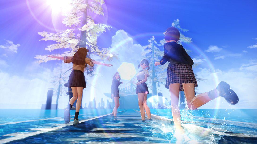 『BLUE REFLECTION TIE/帝』が10月21日発売! ヒロインたちの活躍や序盤の展開など気になる要素が公開!