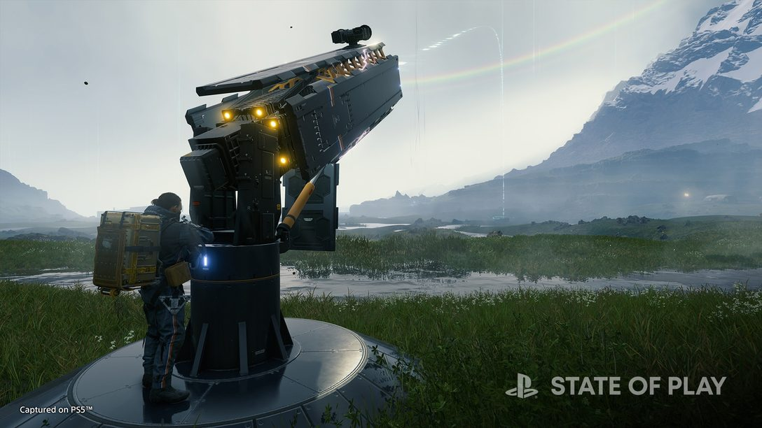 PS5™『DEATH STRANDING DIRECTOR'S CUT』2021年9月24日発売決定! PS Storeにて予約受付開始!