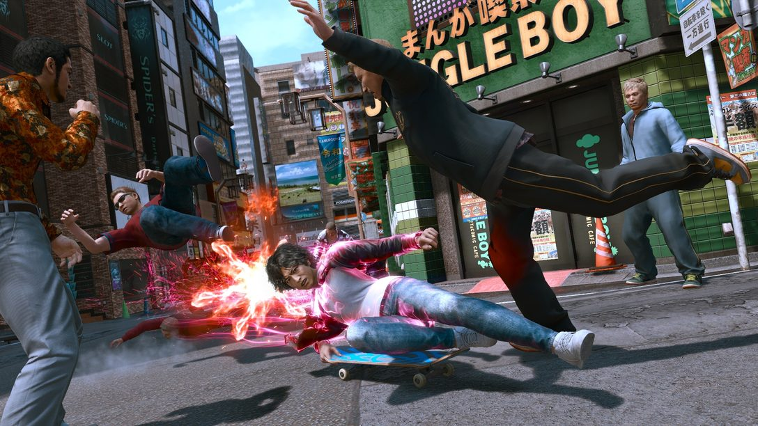 『LOST JUDGMENT:裁かれざる記憶』──主人公・八神隆之が繰り広げるアクションのゲームプレイ映像を公開!