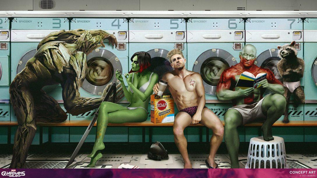 『Marvel's Guardians of the Galaxy』が10月26日(火)発売! 懐かしくも新鮮な本作のガーディアンズたちをご紹介します