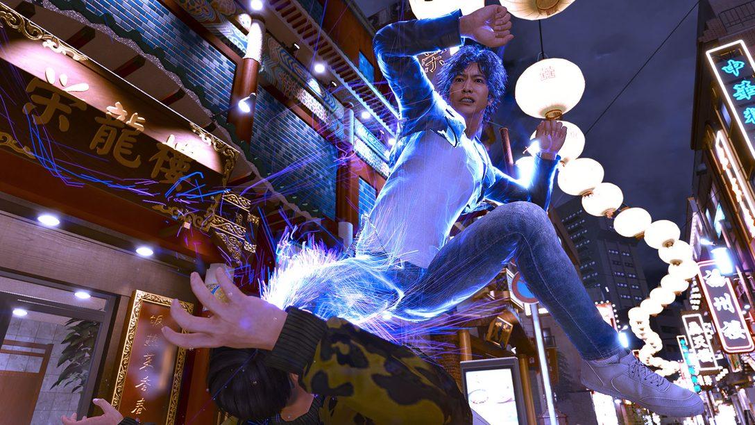 PS5™/PS4®『LOST JUDGMENT:裁かれざる記憶』──前作よりド派手に進化したバトルの必殺技を公開!