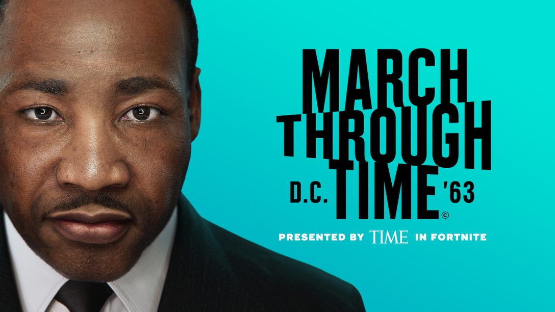 『フォートナイト』でキング牧師を称えよう! TIME Studios が送る「March Through Time」が開催中!