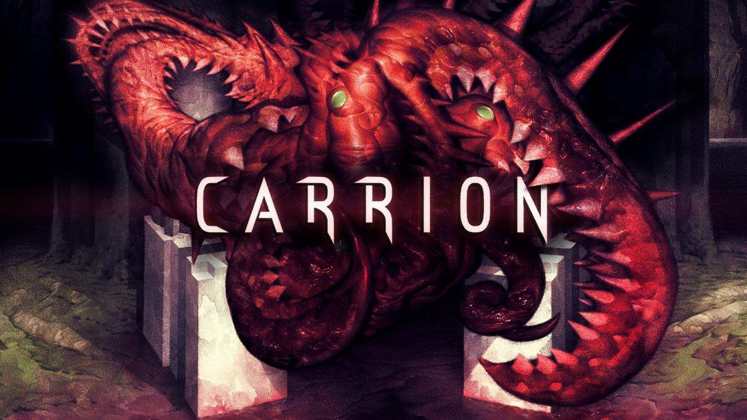 PS4®『Carrion』――リバースホラー体験を楽しめるアクションゲームが登場!