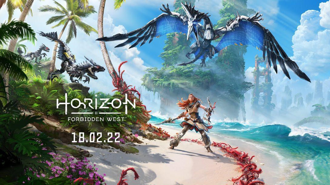 PS5™/PS4®『Horizon Forbidden West』発売日が2022年2月18日に決定! 予約受付は来週開始。前作『Horizon Zero Dawn』のPS5向けパッチも配信開始!