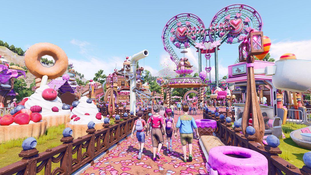 現実ではあり得ない、不可能な乗り物が作れるテーマパークゲーム『Park Beyond(パークビヨンド)』2022年発売決定!