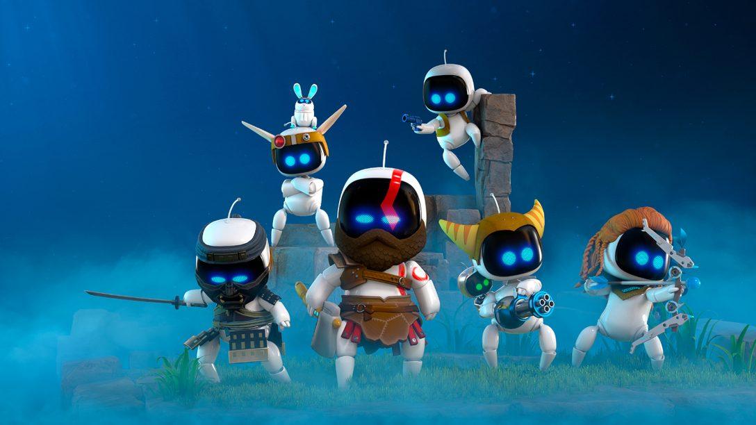 『ASTRO's PLAYROOM』に登場するPlayStation®歴代のヒーローたち!その制作の裏側を開発者がご紹介します!