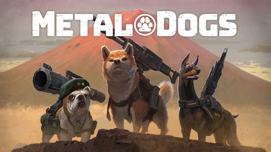 PS4®『メタルドッグス』今冬発売決定! 「メタルマックス」シリーズ30周年記念スピンオフ作品!