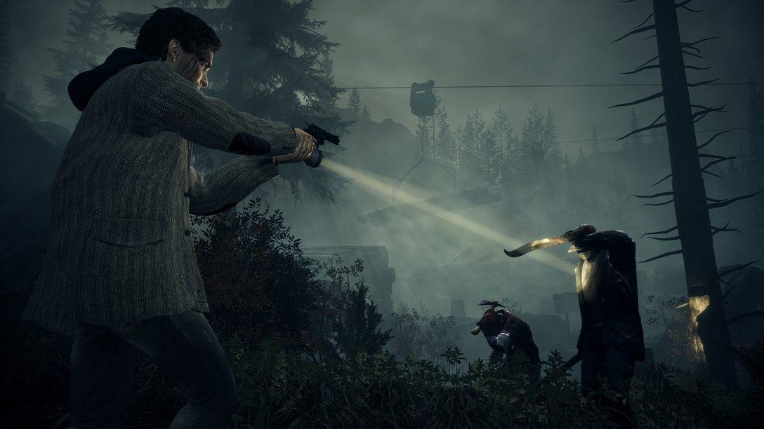 『Alan Wake Remastered』がPS5™とPS4®で10月5日(火)発売!『CONTROL』ともつながる超自然的な物語をチェック!