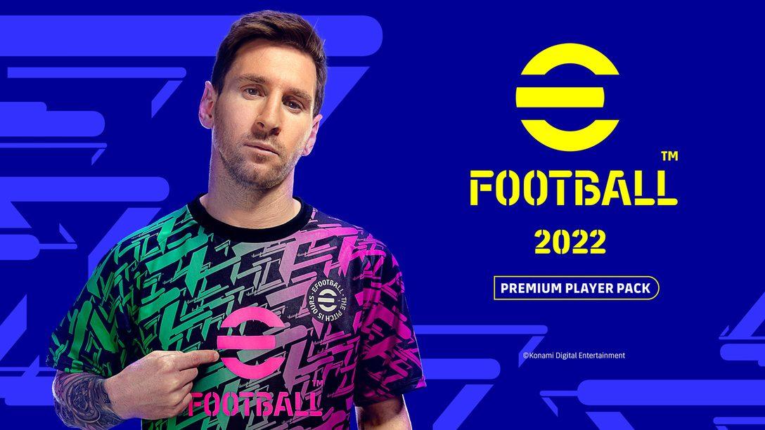 PS5™/PS4®『eFootball™ 2022』のゲーム内アイテムをセットにしたスターターパックが発売決定! 現在予約受付中!